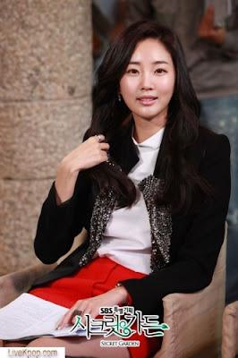 Foto Yoon Seul Secret Garden Korean Dram