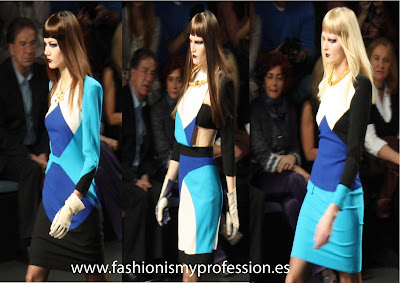 Desfile Ana Locking en Cibeles, Madrid fashion week