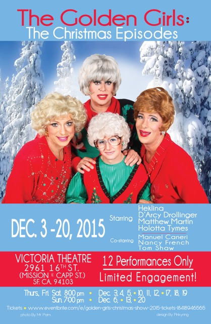 golden girls the christmas episode at the victoria theatre - Golden Girls Christmas