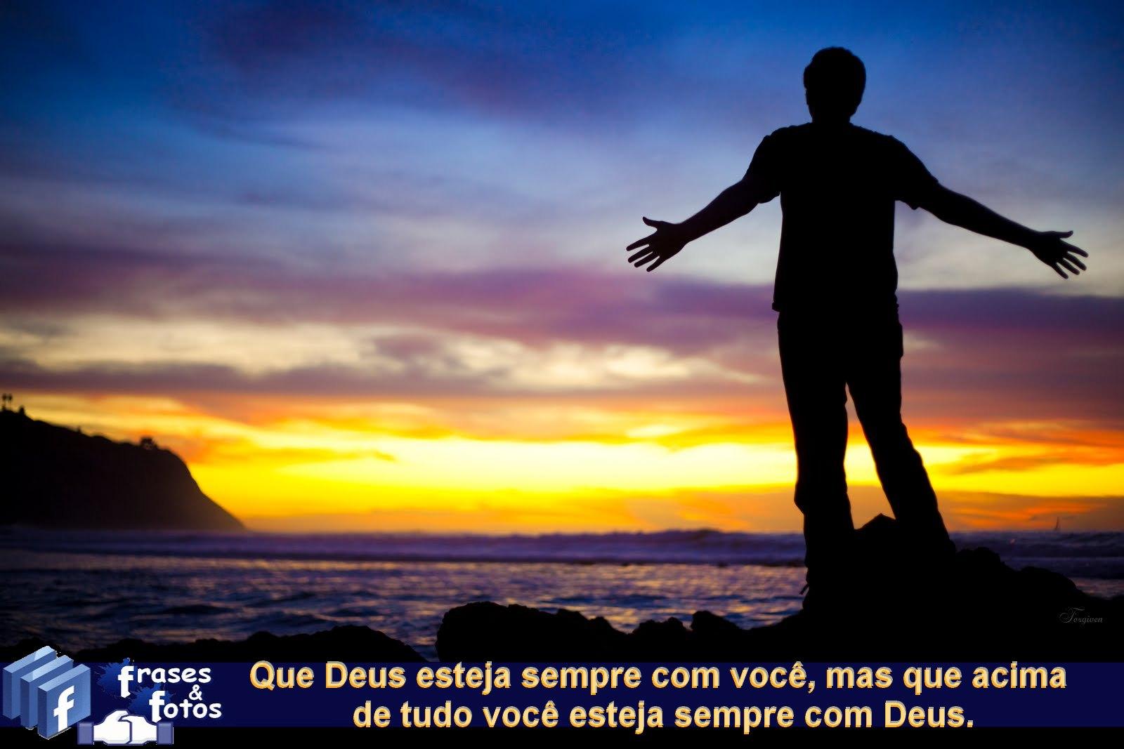 Frases Bonitas De Deus Para Facebook Com Imagens