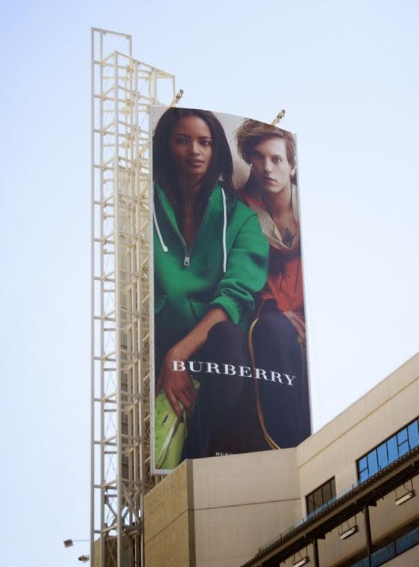 Burberry casual Summer 2014 billboard