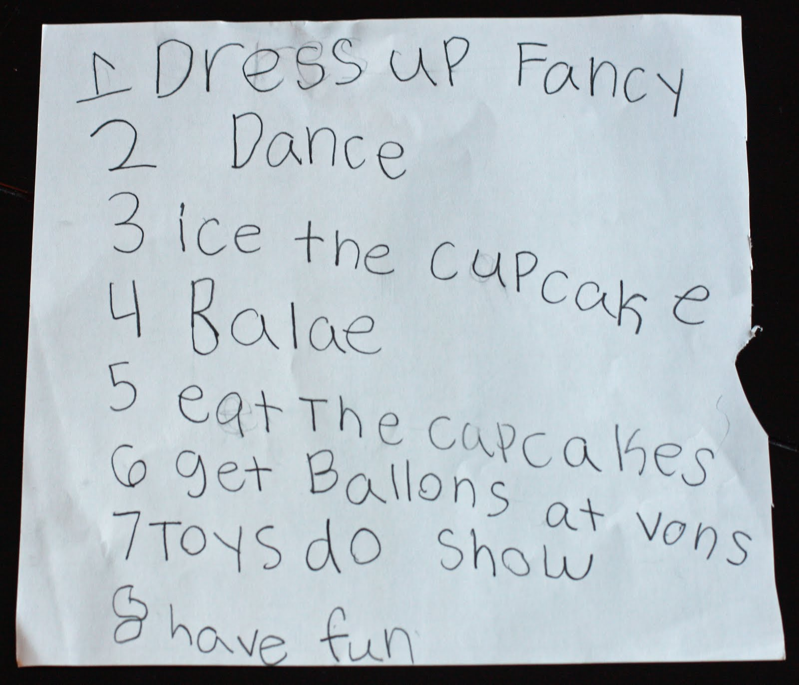 birthday list maker
