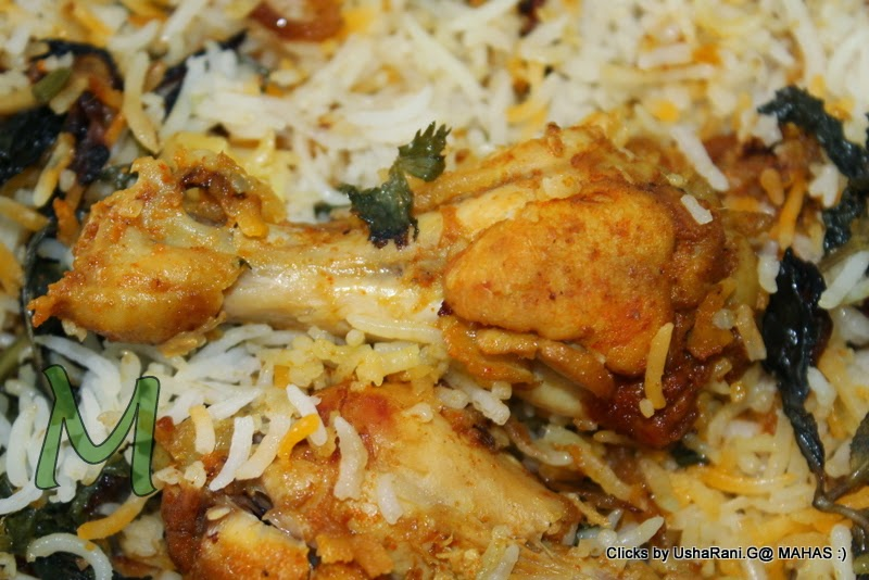 how to make chicken biryani south indian style