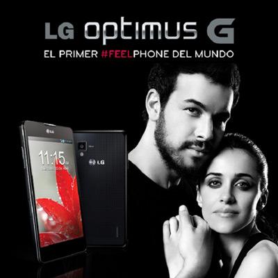 LG Optimus G características teléfono inteligente