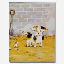O cão e o pintinho