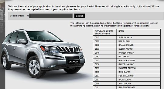 Mahindra Lucky Draw Members List Now Available On Website