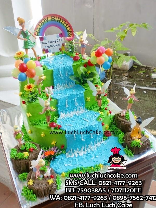 Kue Tart Tinkerbell Tingkat Daerah Surabaya - Sidoarjo