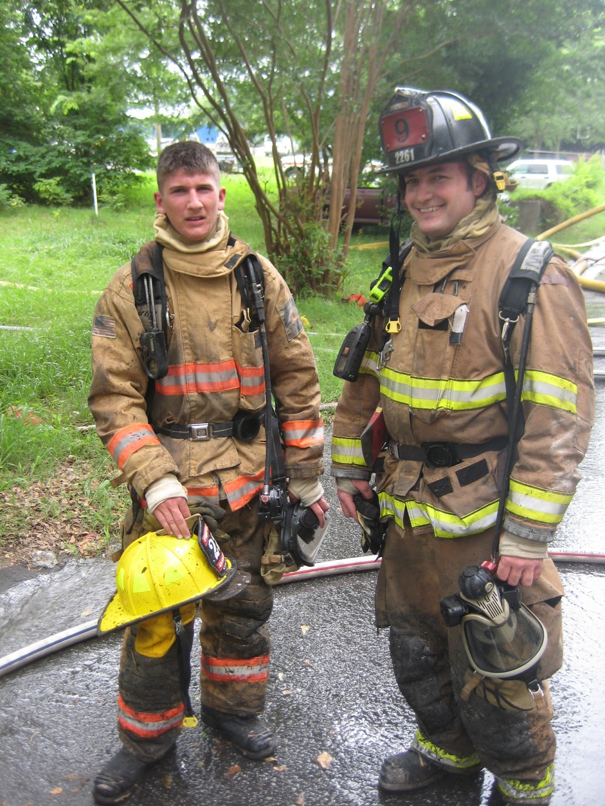concord high school fire academy luke barnhardt tyler untz and the burn instructor mark gauss