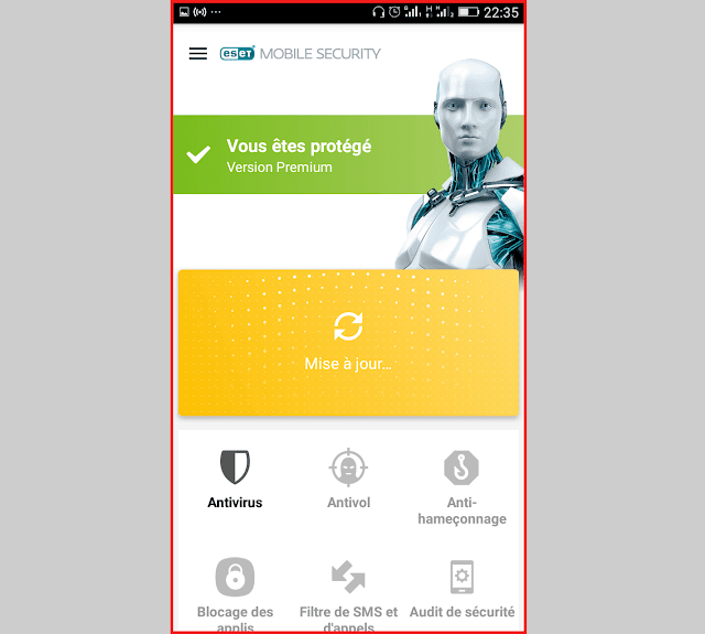 الحماية eset mobile security image7.png