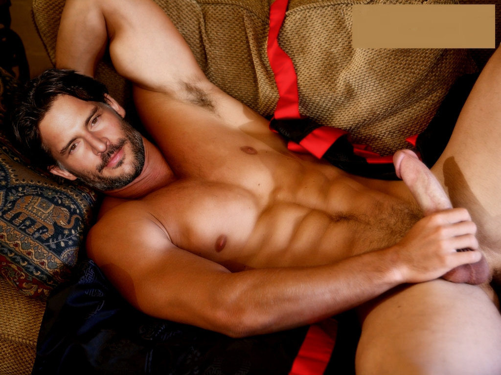 Joe Manganiello Naked Fake