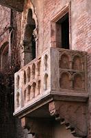 Balcony, Romeo and Juliet, Verona, Italy