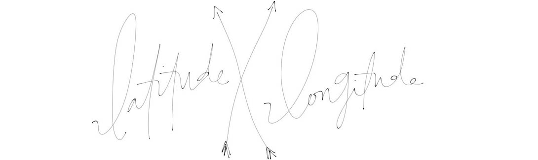 latitude x longitude