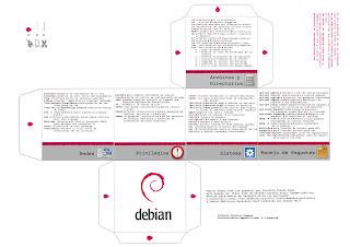 El cubo de comandos para Debian