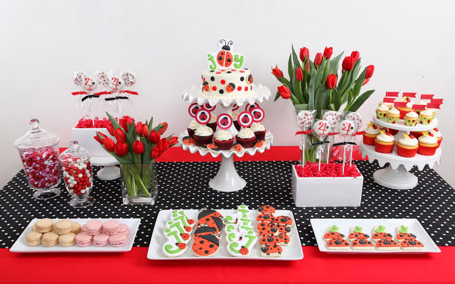 Ladybug Themed Baby Shower