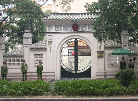 Địa chỉ đại sứ quán trung quốc tại hà nội - 46 Hoàng Diệu