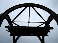 Stahlelement, Bauteil, Schwebebahn Wuppertal