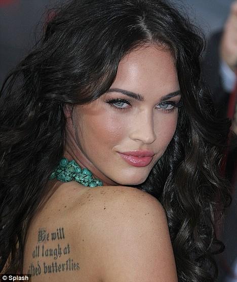 quote tattoo. megan fox quote tattoo. tattoo