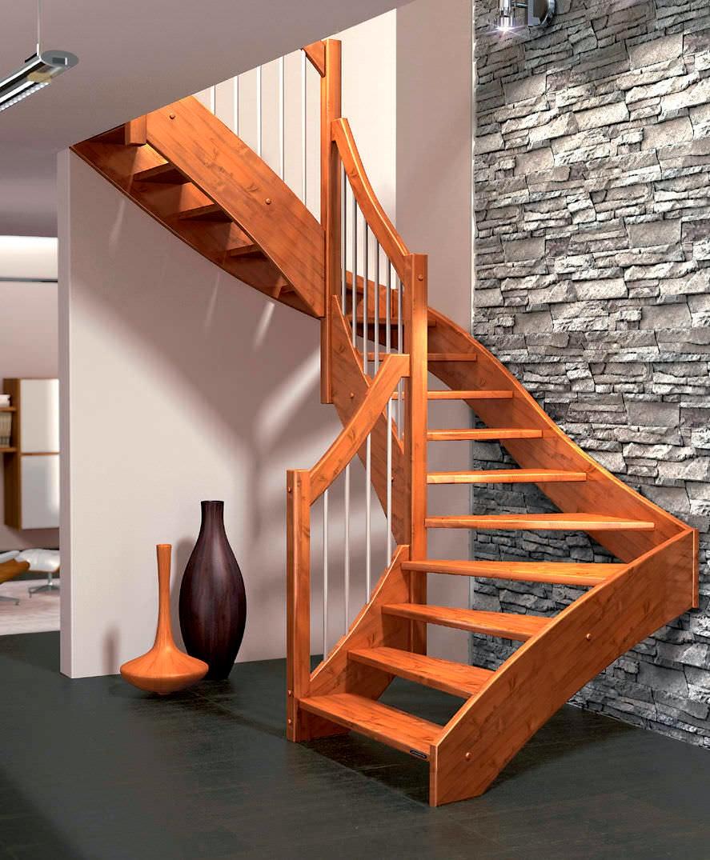 Escaleras de madera carpintero sevilla 665 848 800 - Escaleras para sotanos ...