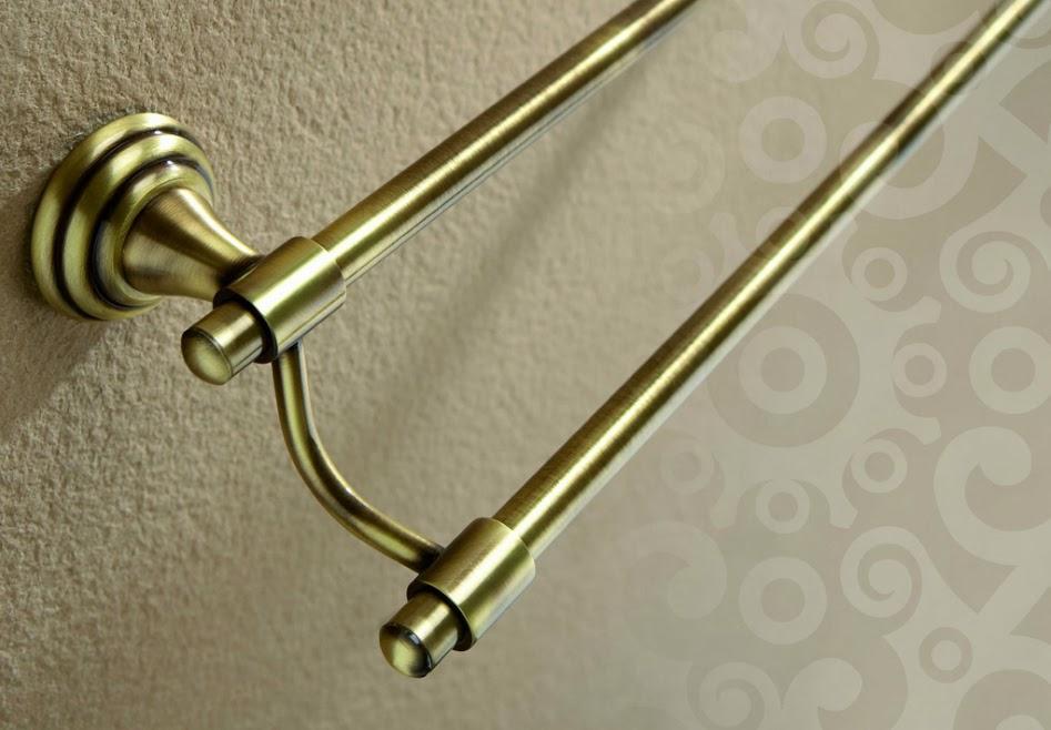 accesorio de baño rustico