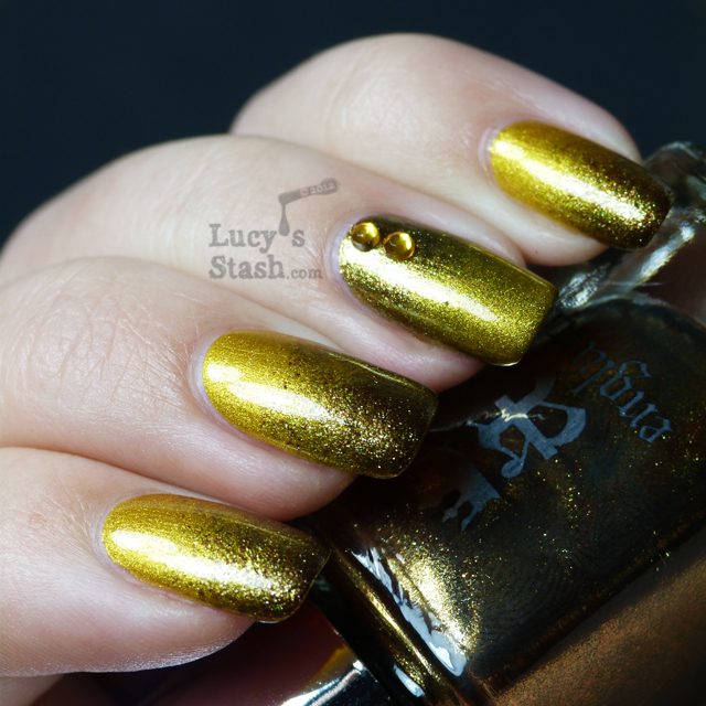 Lucy's Stash - Gradient nail art using Holy Grail the original and new version
