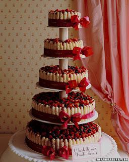 pasteles de boda martha stewart Pasteles de boda muy originales