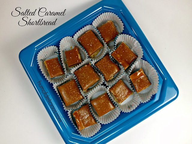 salted caramel shortbread in an hour: humofdelicious.com