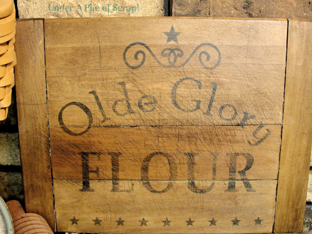 Rustic Flour Sign