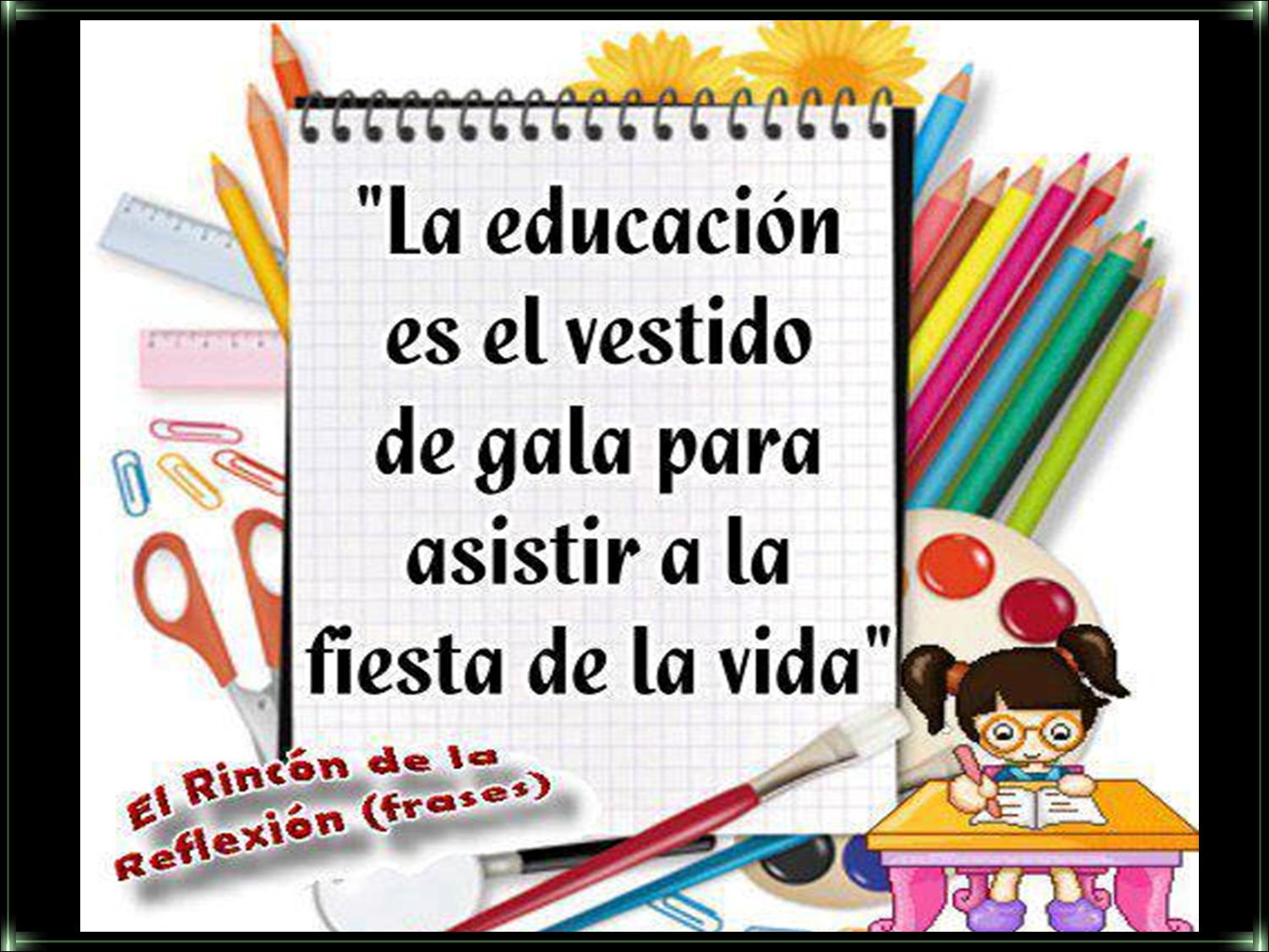 maestro a la zona de aprendizaje.: FRASES Y REFLEXIONES PARA MAESTROS