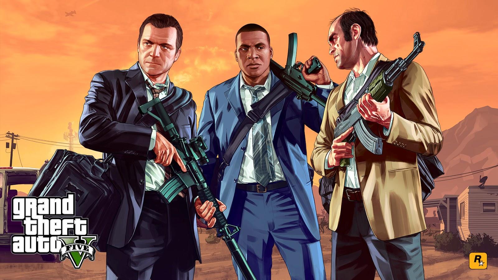 Grand Theft Auto V Wallpaper FULL HD