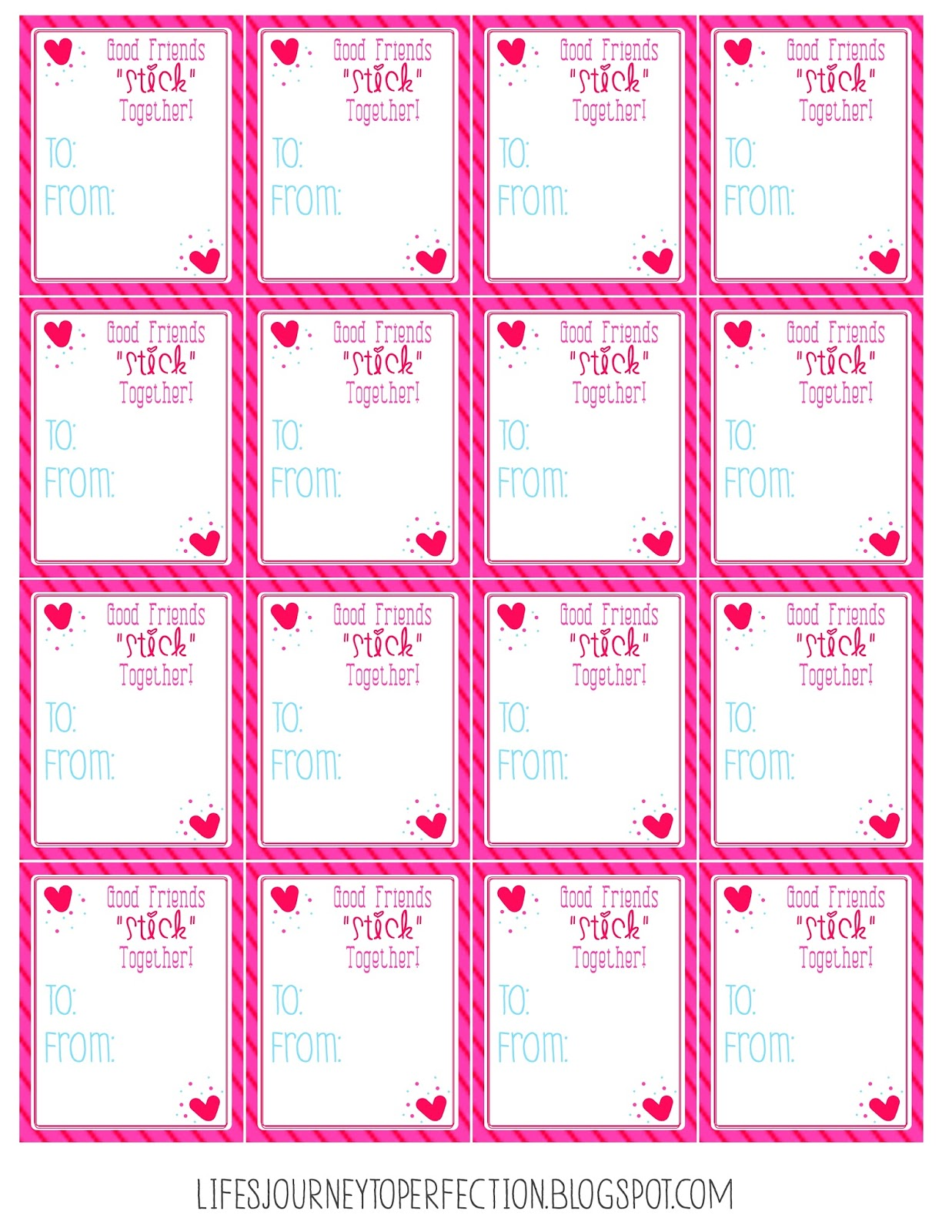 This is a graphic of Tactueux Printable Valentines Day Tags