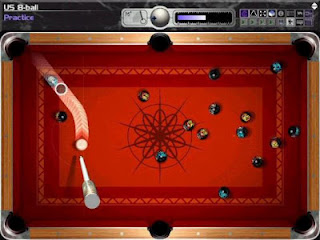 Cue club snooker game nice curve shoot