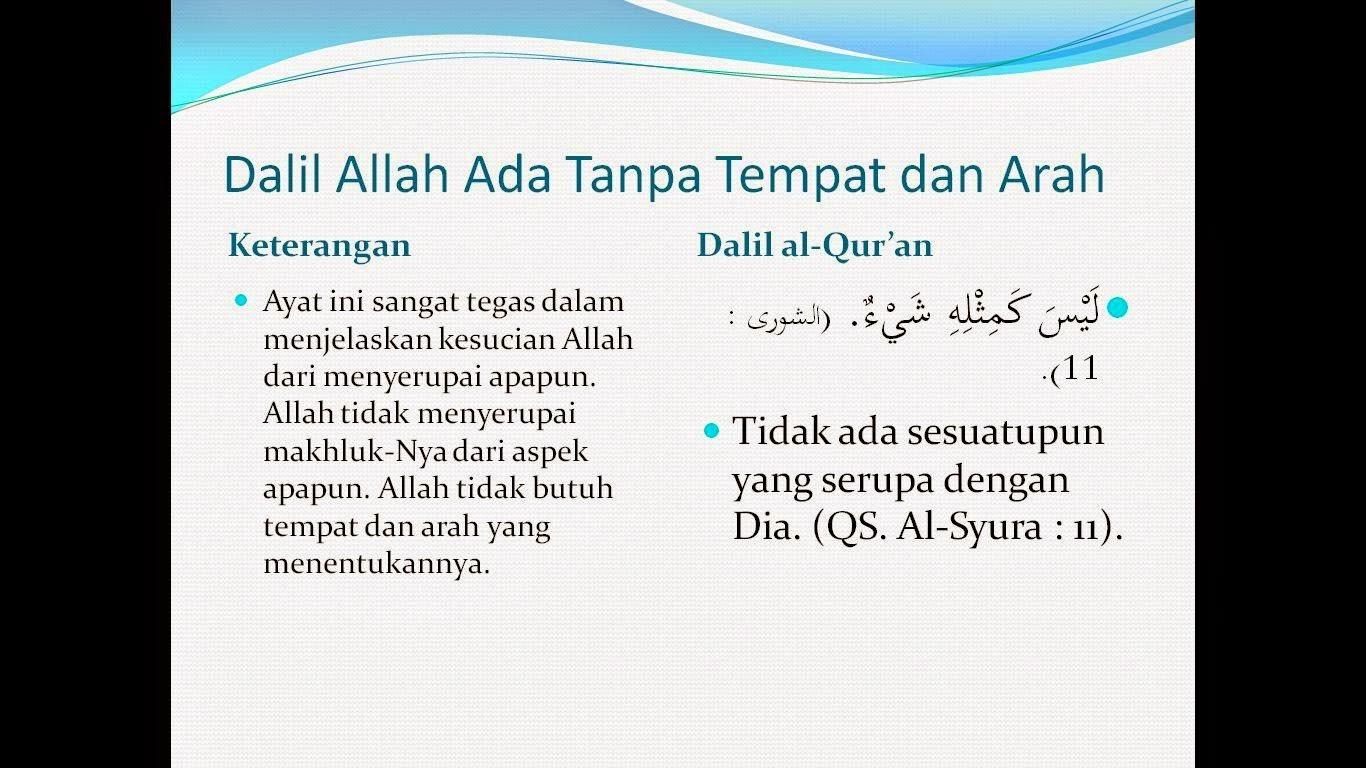 Tauhid ahlussunnah