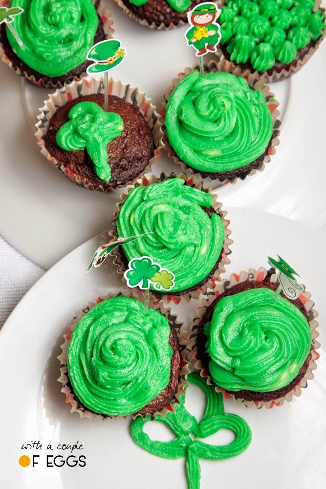 cupcakes verdes