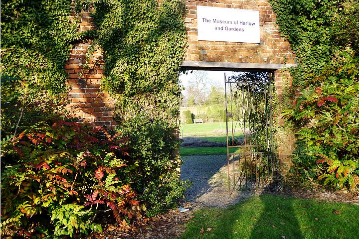 Recording Harlow Harlow Museum Gardens