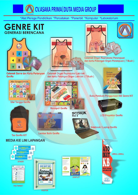 GENRE Kit 2016 , Materi GenRe Kit BKKBN 2016 ,Distributor dan Suplier PengadaanDAK BKKbN 2016