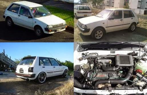 Toyota Starlet 1.3 SE/EP71 – tahun 1987