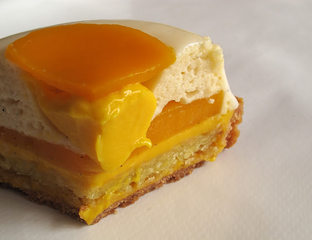 Des Gâteaux et du Pain - Tarte mangue et vanille de Tahiti