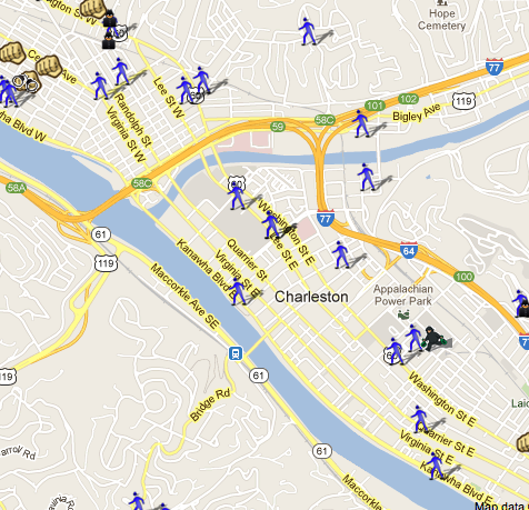 Charleston, WV is on the Map! | SpotCrime - The Public's Crime Map on