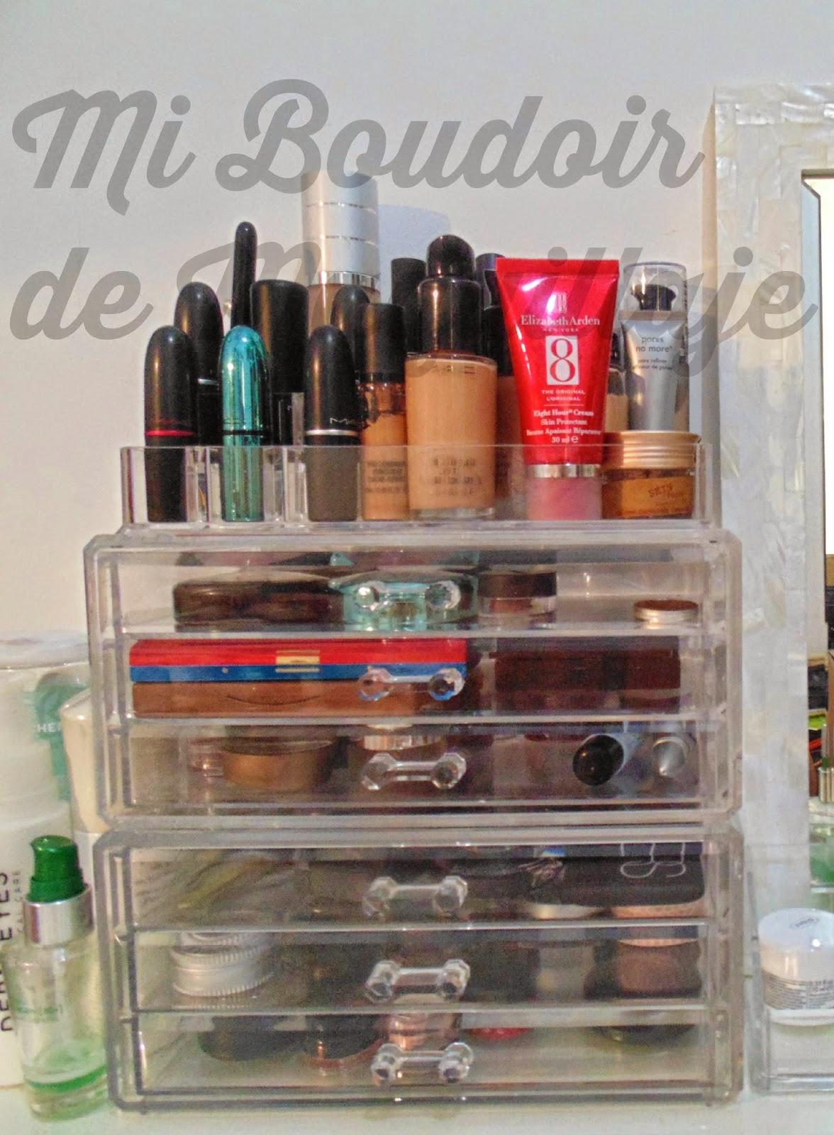 organizadores de maquillaje carrefour