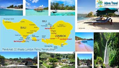 Menikmati 10 Wisata Lombok Paling Menakjubkan