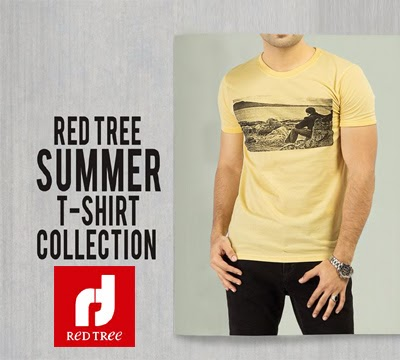 Red Tree Summer T-Shirt Collection 2014 For Men
