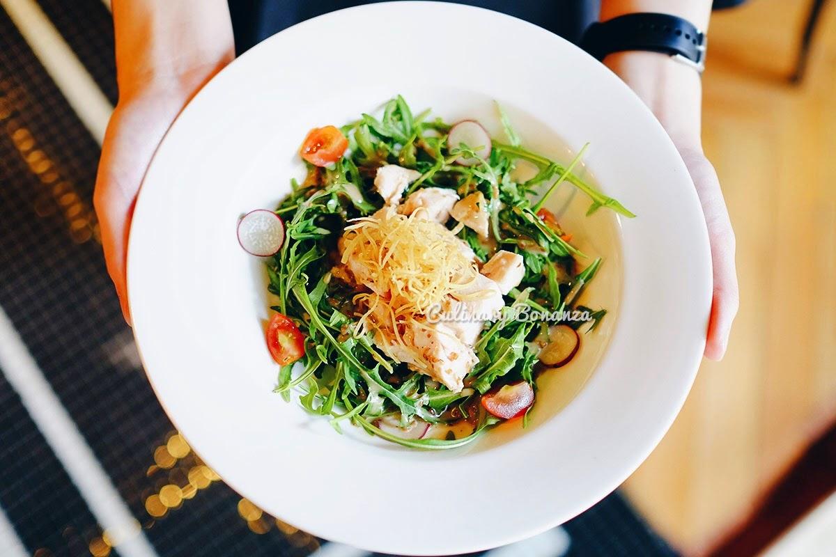 Sesame Chicken Salad at Wilshire Restaurant, Senopati (www.culinarybonanza.com)