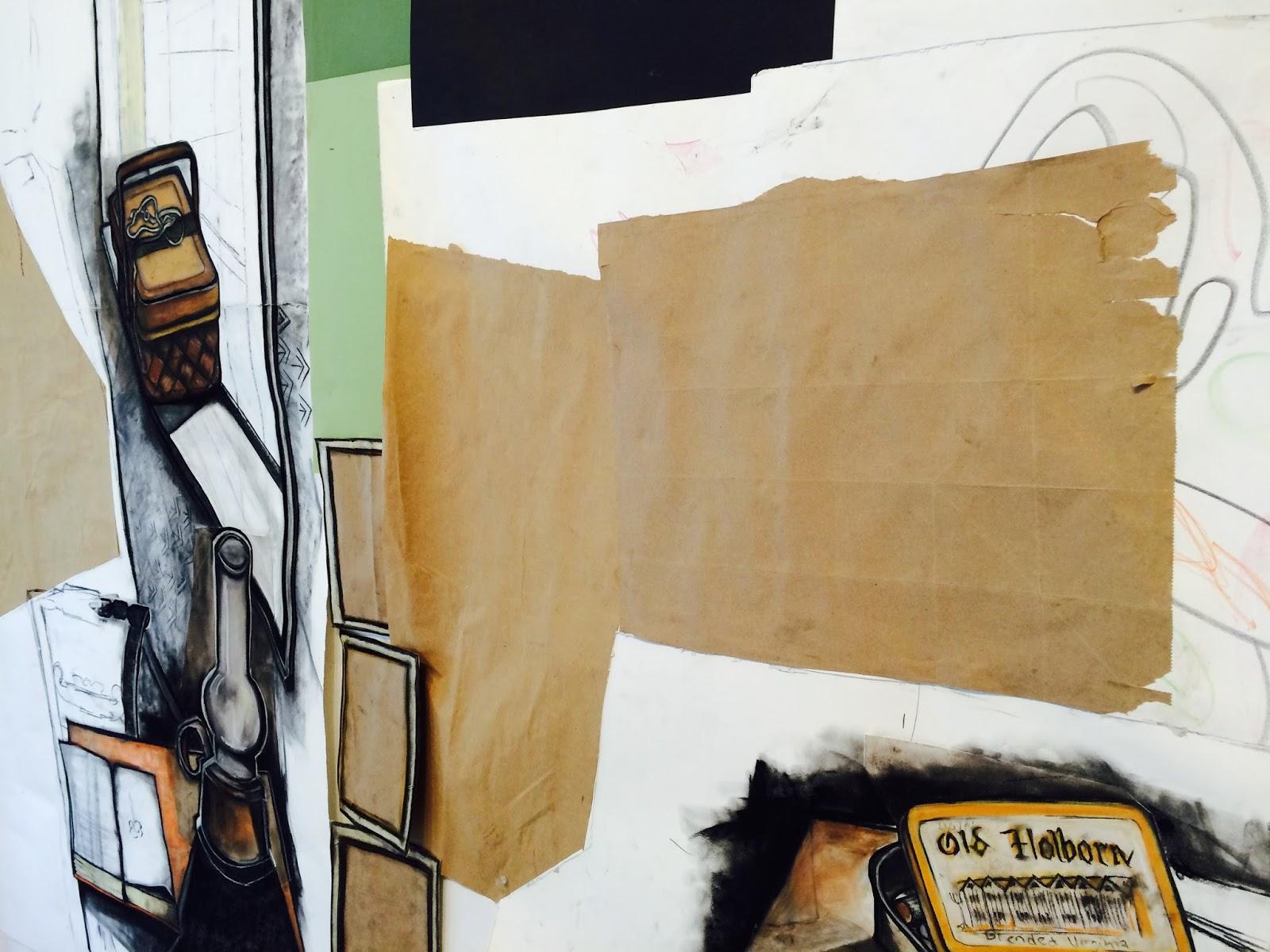 Artist in an A-frame : June 2015