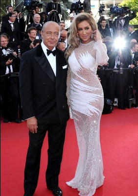 Maya Diab On the Red Carpet with Fawaz Gruosi - De Grisogono