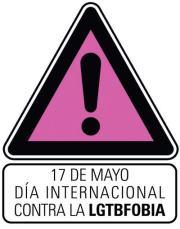 17 de mayo, Día Internacional contra la Homofobia, la Transfobia y la Bifobia
