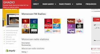 Moroccan Radios, morocco fm, listen, live