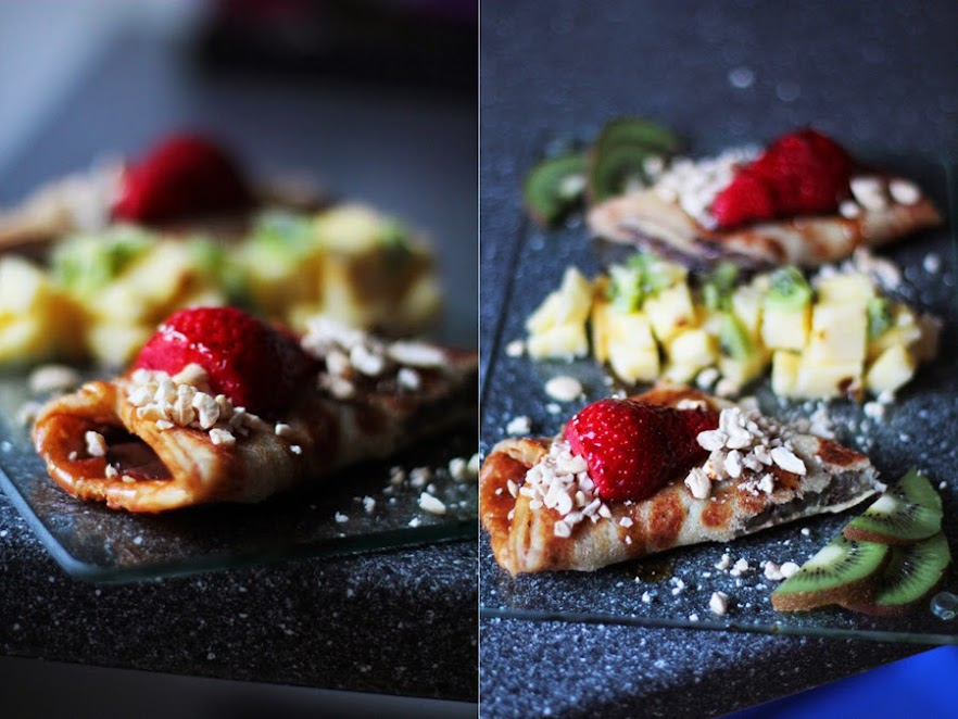 vegane crepes ohne zucker clean eating