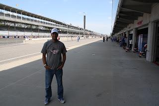 pit lane de indianapolis