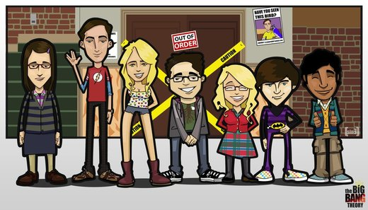 The Big Bang Theory Crew por Kessp