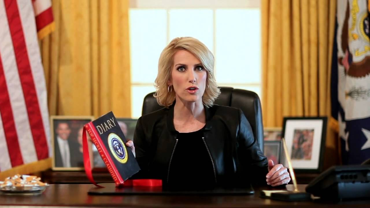 Laura Ingraham reads and writes bias books